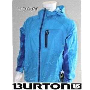 Burton Chaos Jacket - Blue Aster size L